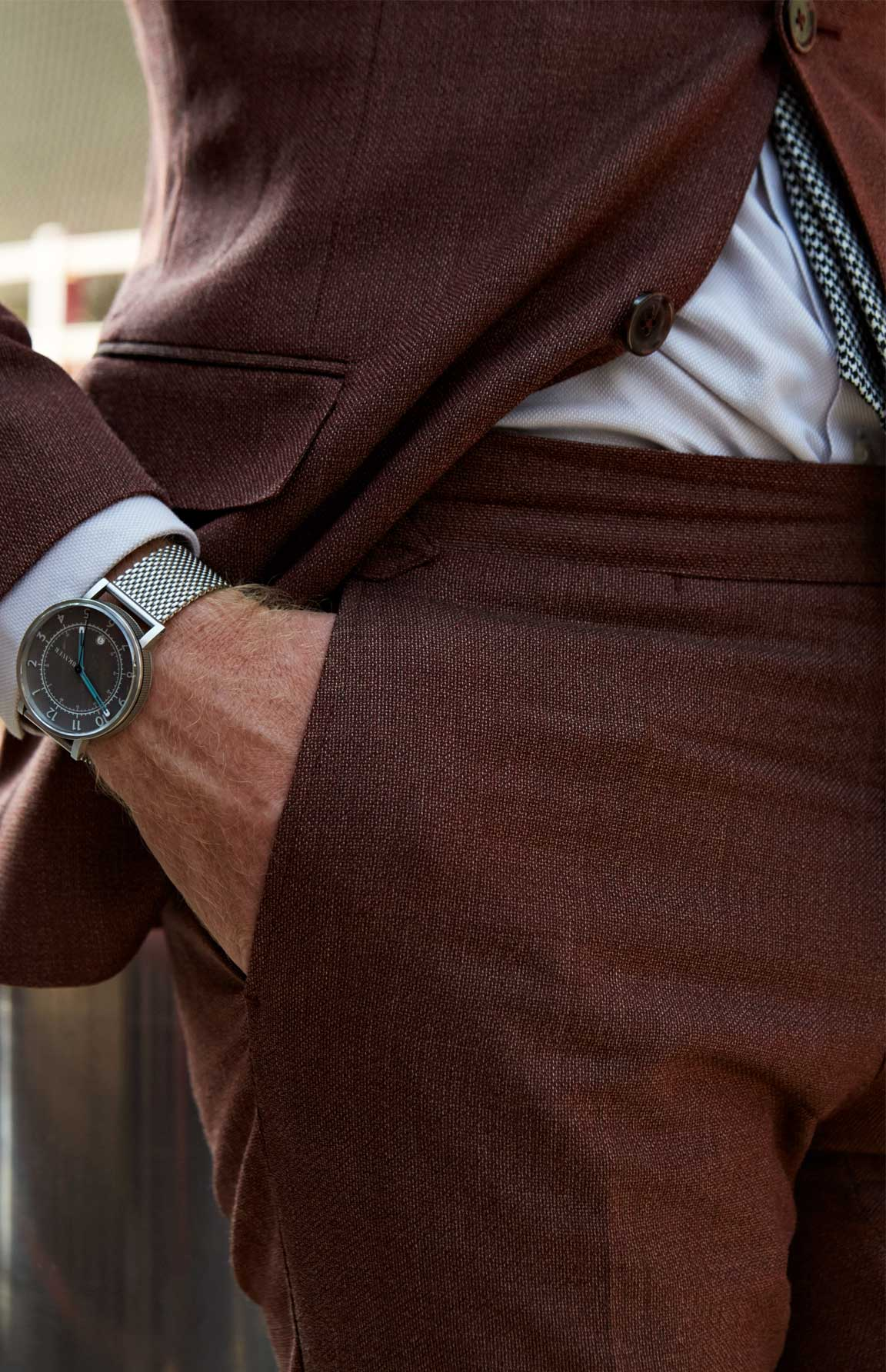 James Nord has a cool watch