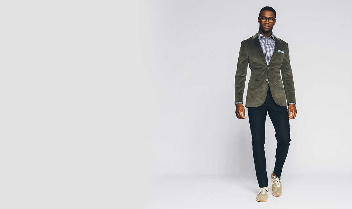 Business Casual: add some texture