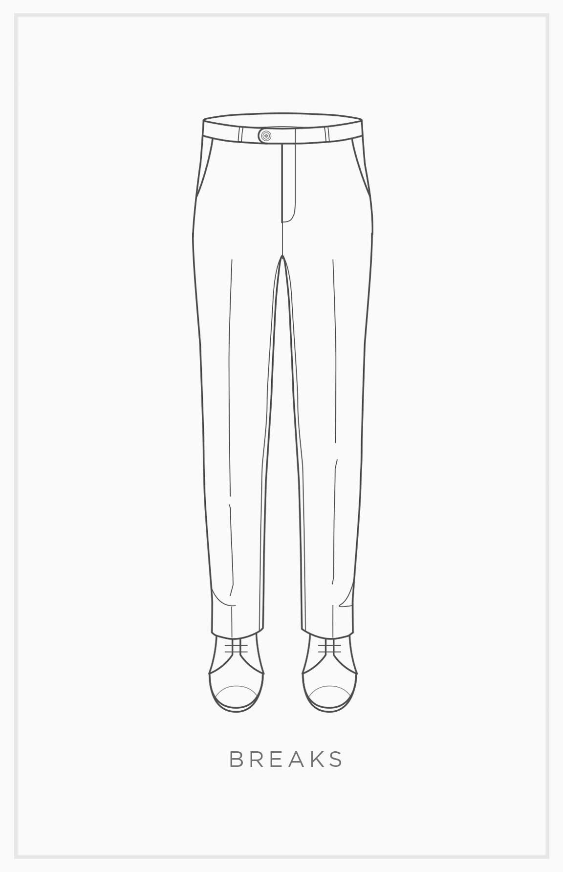 Pants Basics: Breaks
