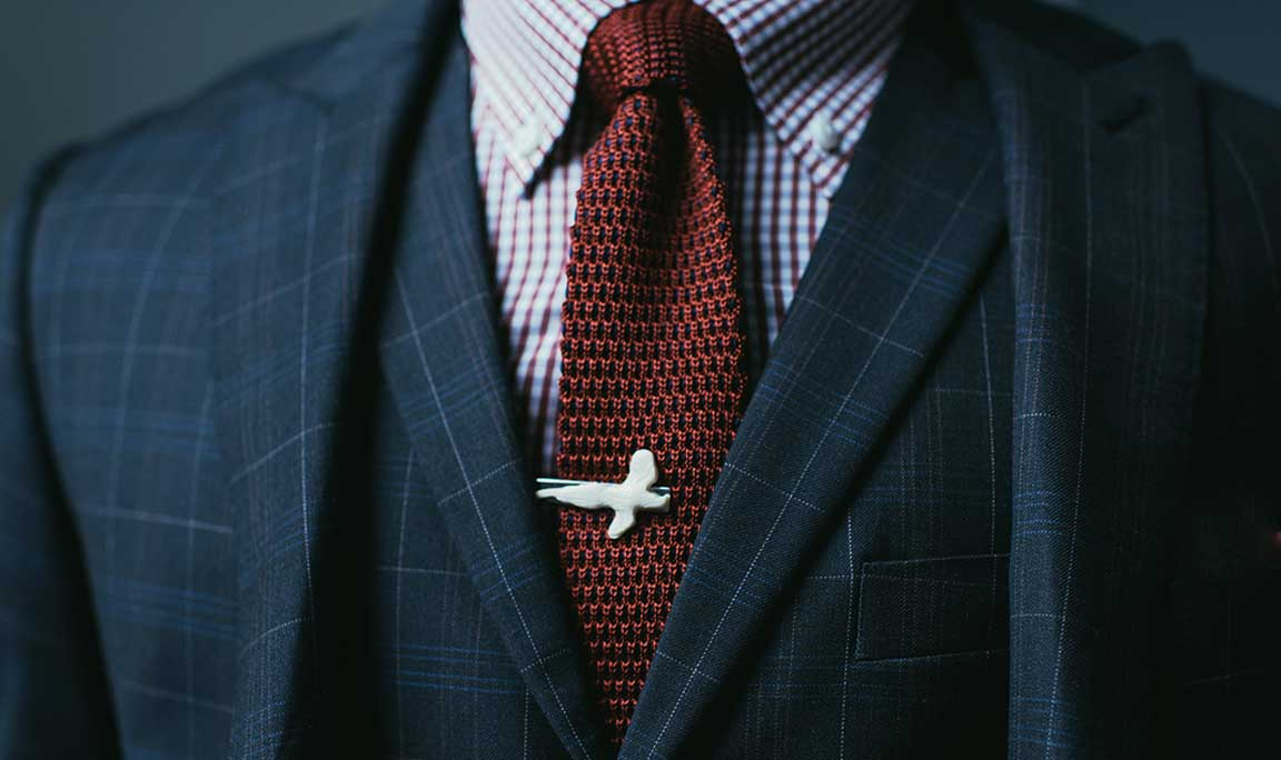 Tie clips. You bet.