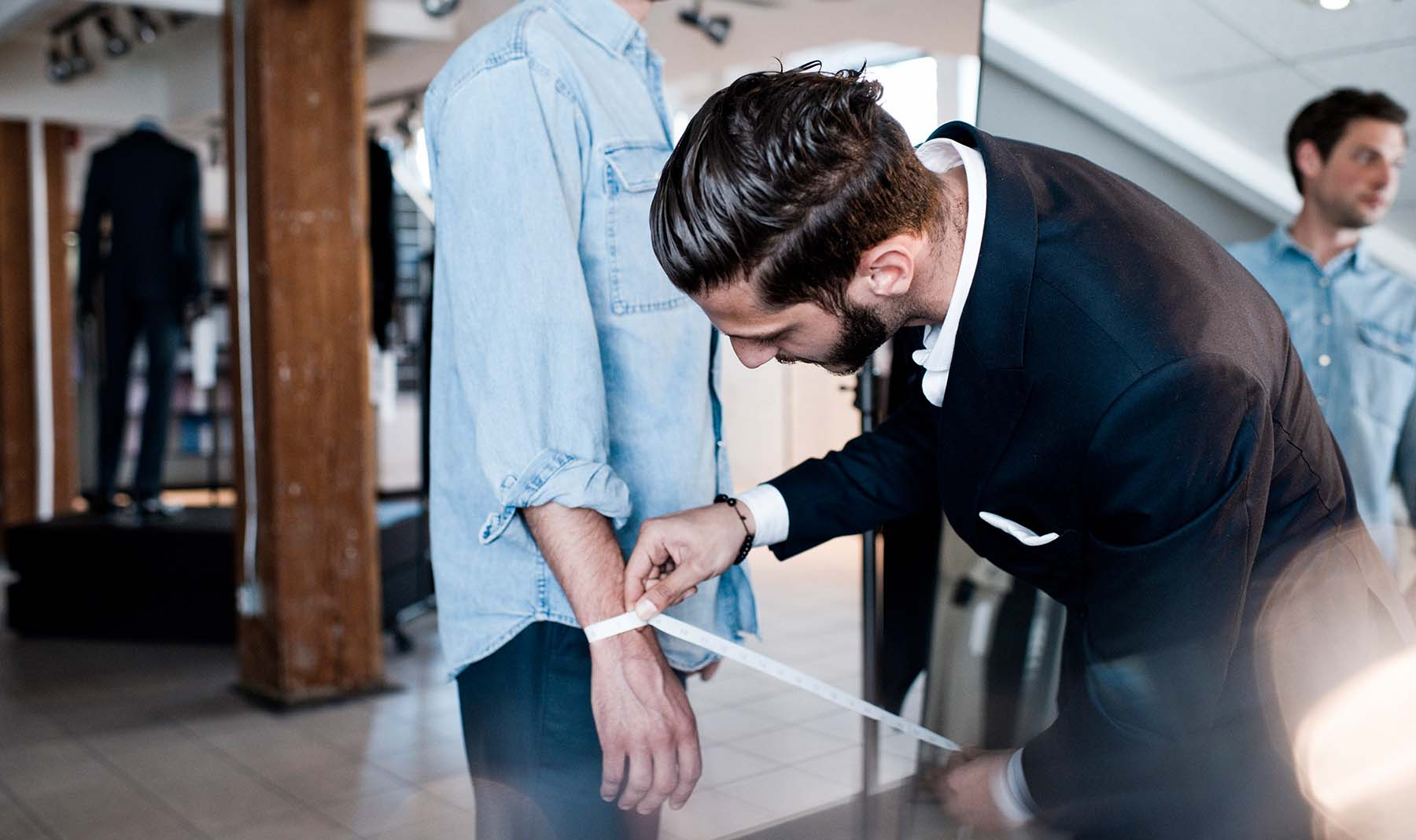Wearing made to measure always looks and feels better than any other suit.